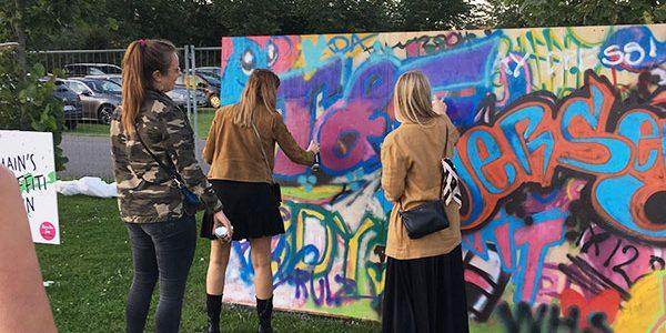 graffiti workshop for firma