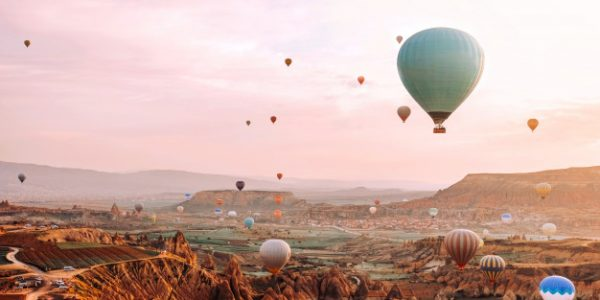 ballonflyvning med kæresten