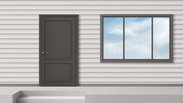 vinduer og døre